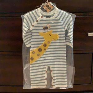 Giraffe sweater one piece